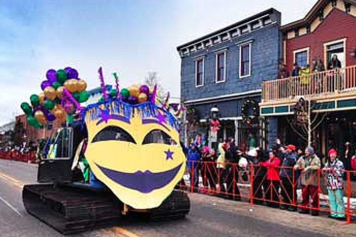 Enjoy a Mardi Gras that rivals New Orleans.