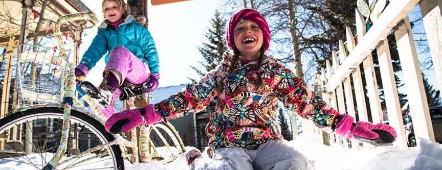 Kids need a break from mom and dad, too! Take advantage of the childcare options available to you while in Breckenridge. Enjoy some 'me' time and give the kids a break, too!
