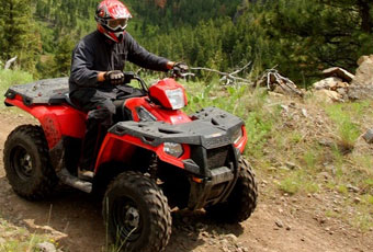 Breckenridge is close to hundreds of miles of ATV and Jeep trails. Visit areas in Summit County never seen my most tourists.