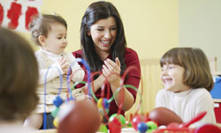 When you are ready for some adult time, there are a number of good childcare options for you in the area.