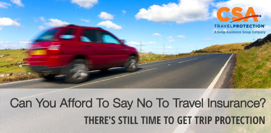 Can you afford to say no to travel insurance?